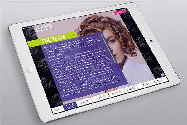 Website Design - Looks Salon