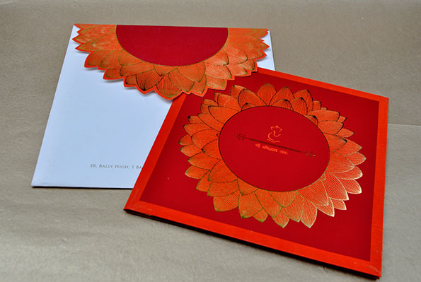 Sunflower Wedding Invite