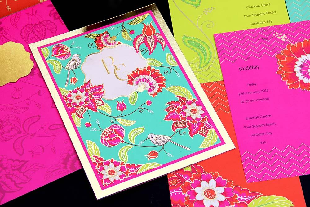 Wedding card Template Design