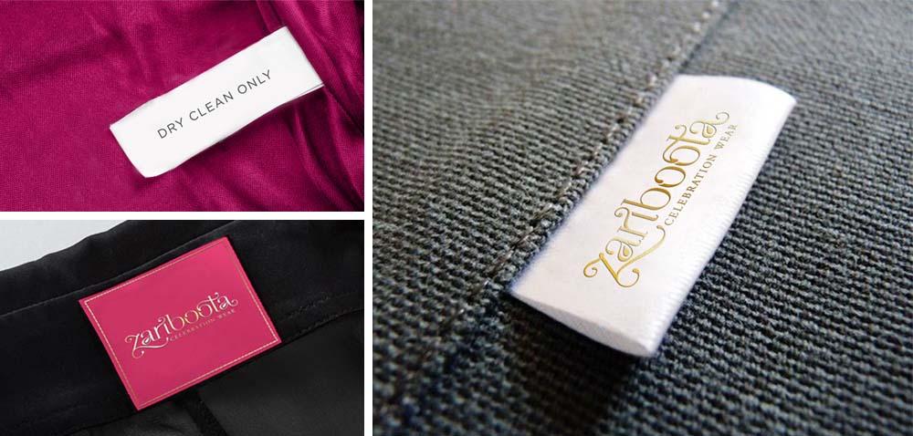 Neck tag & care tag designs