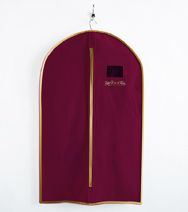 Outer covering for garment hangers