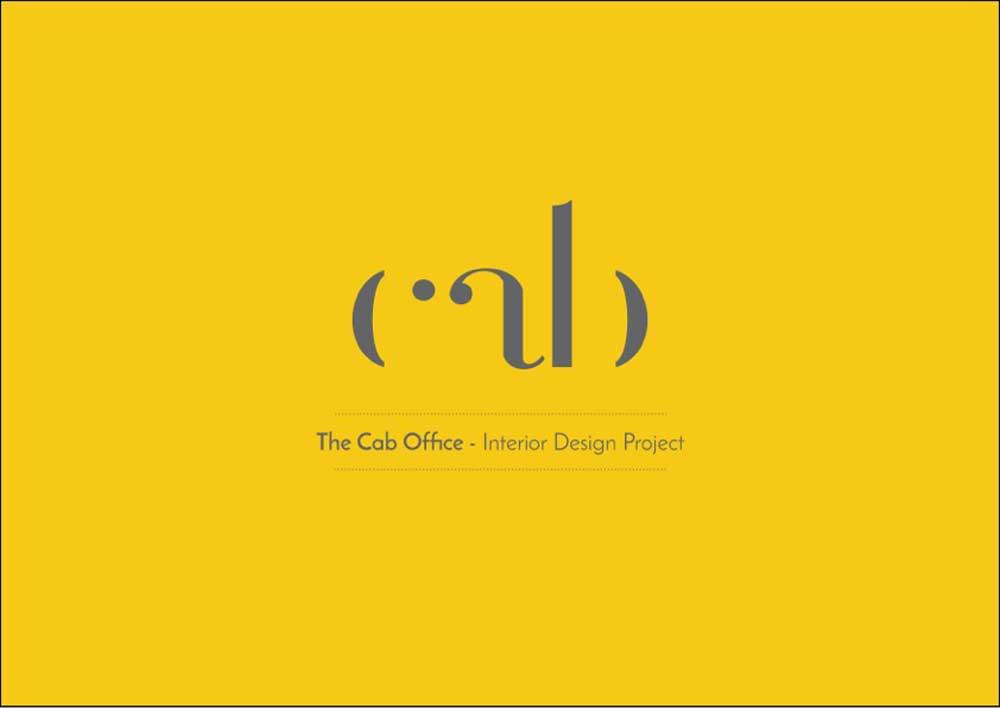The Cab office Logo design