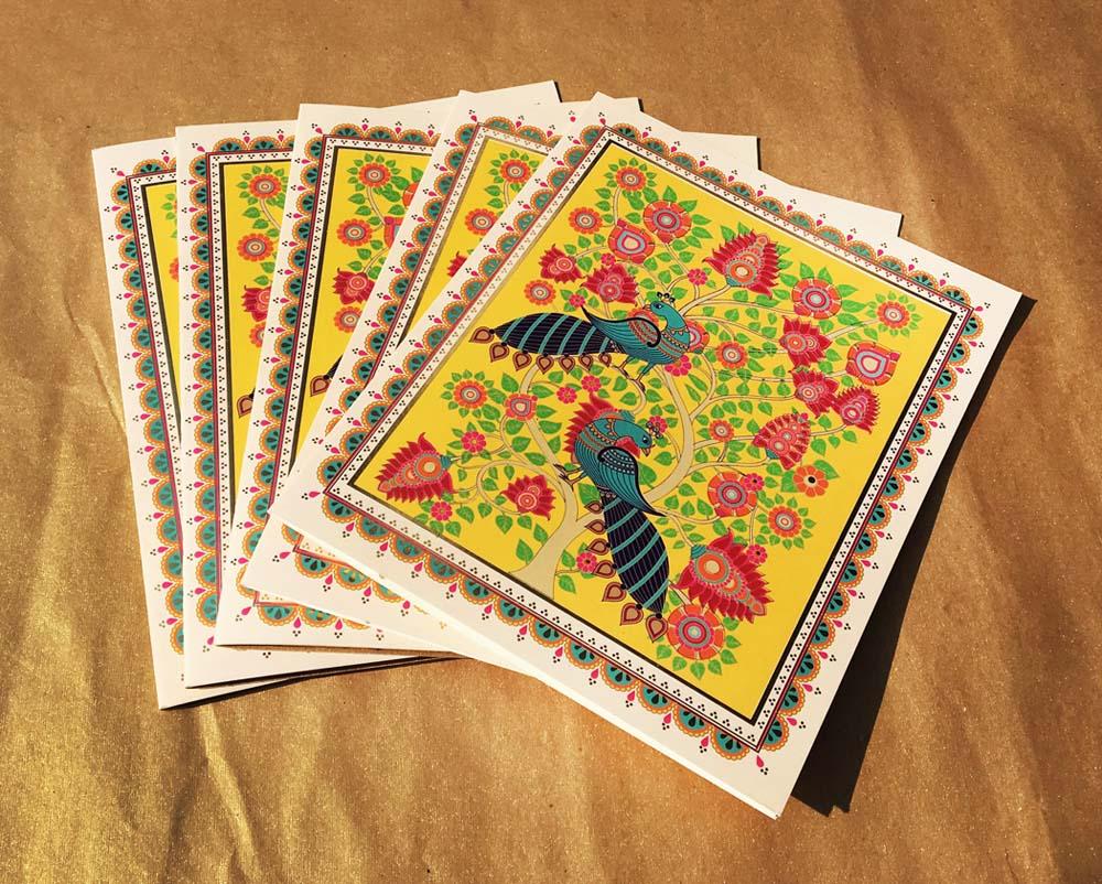 Kalamkari art Invitation