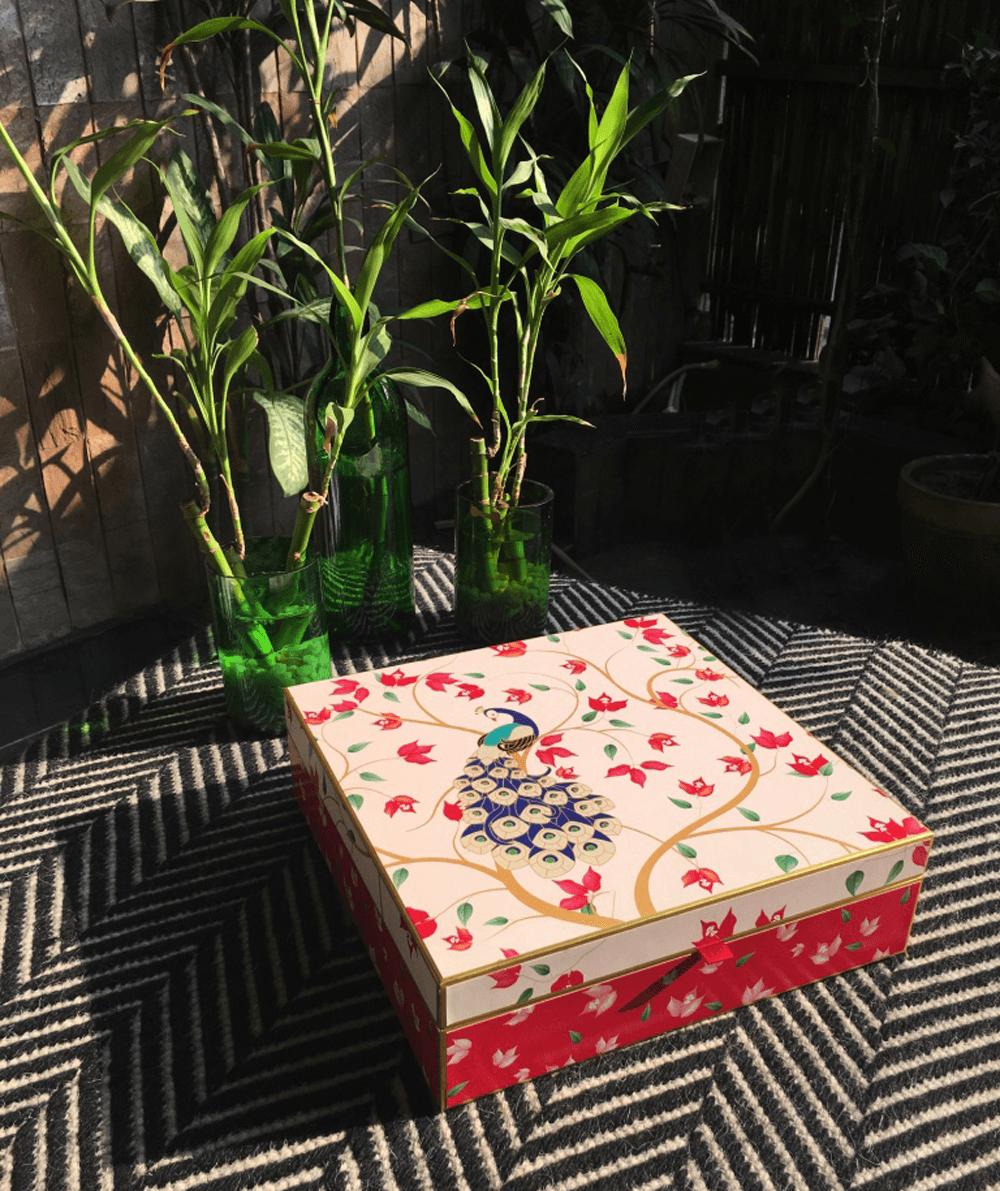 Invitation card box