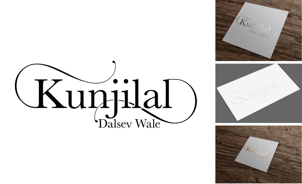 Kunjilal Dalsev wale logo