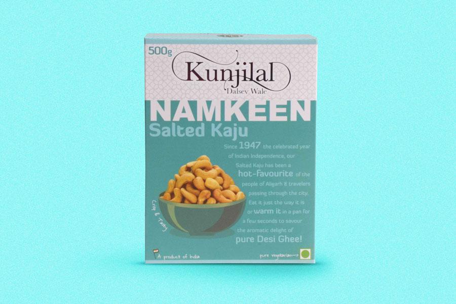 kunjilal salted kaju Namkeen