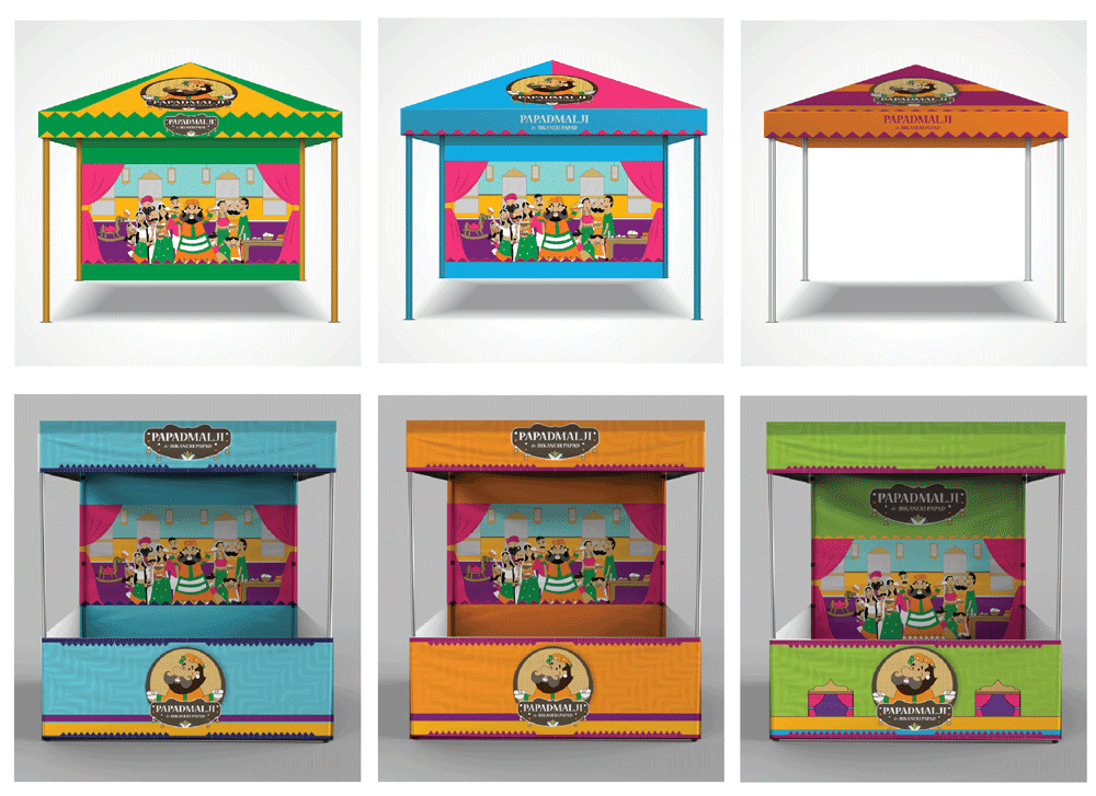 Papadmalji Stall Designs