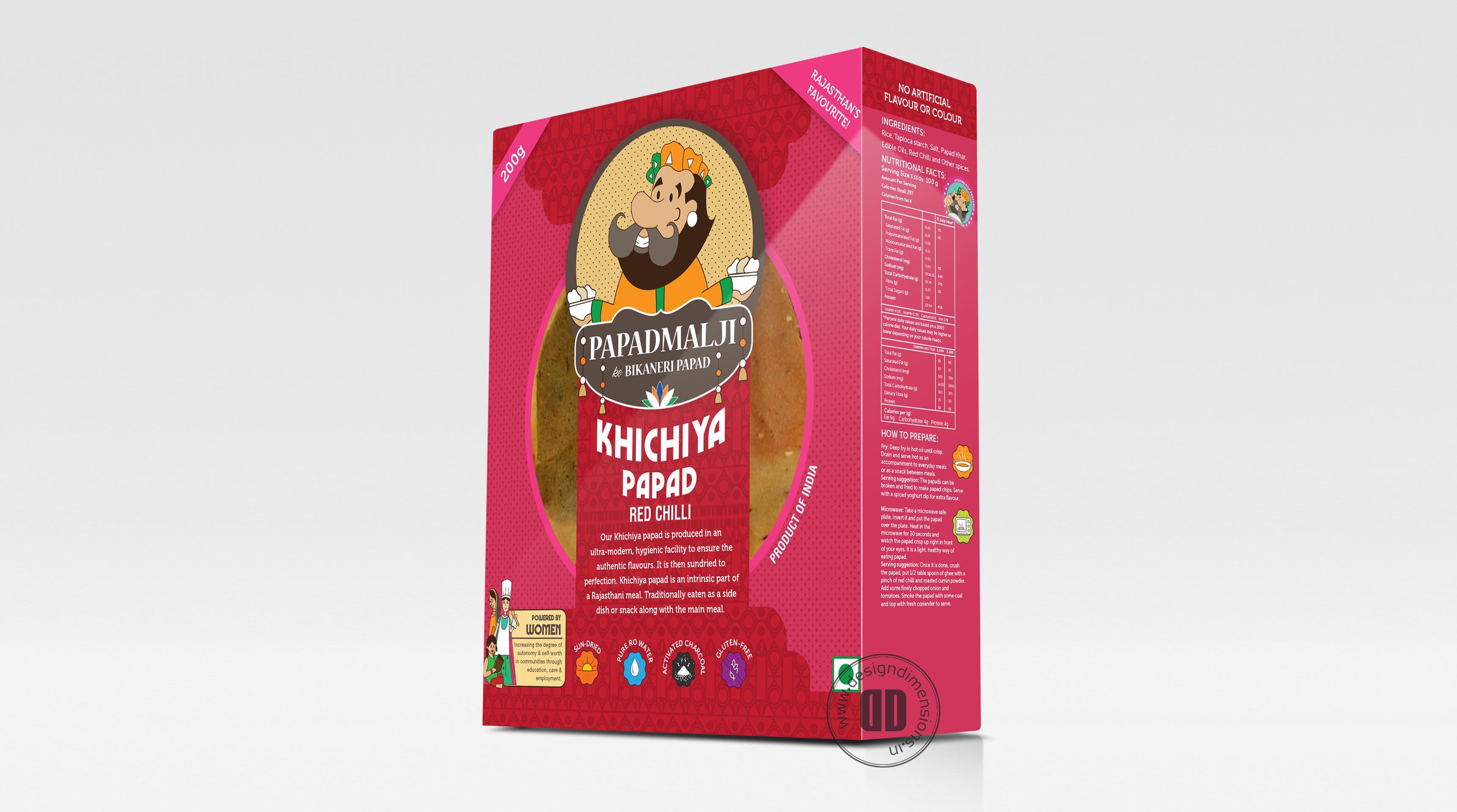 Khichiya Papad 1