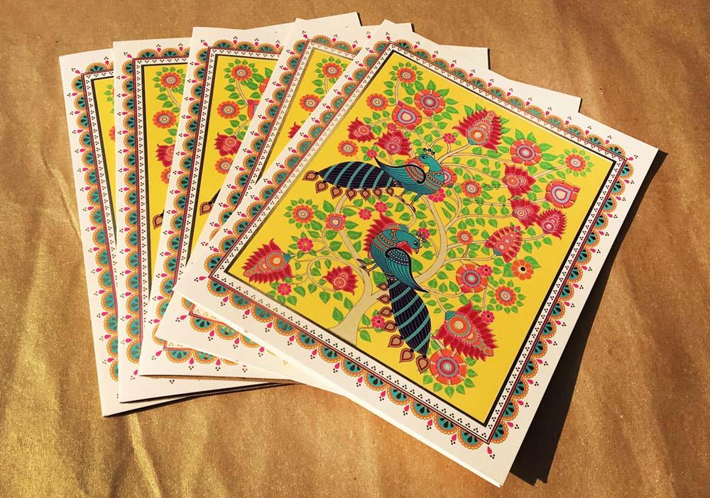 Kalamkari Art Inspired Invitation